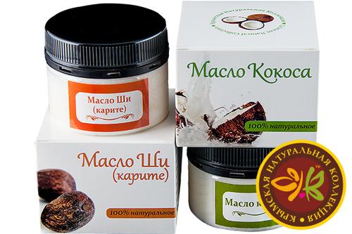 Масло кокоса и ши – отличная база для любимых средств