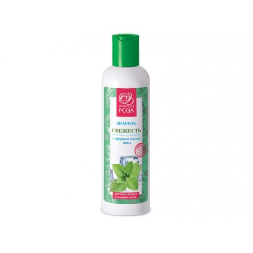 Шампунь Свежесть для нормальных и жирных волос 250 мл. Крымская Роза
