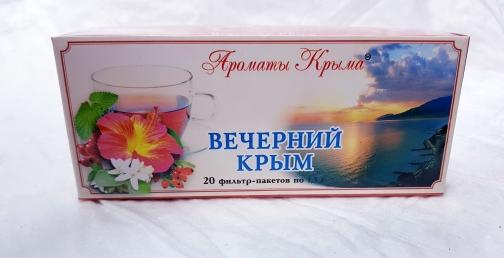 Чай Вечерний Крым пакетированный 20 пакетиков