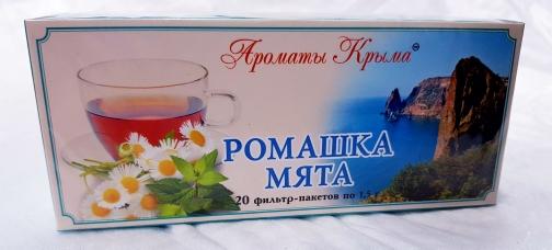 Чай Ромашка Мята пакетированный 20 пакетиков