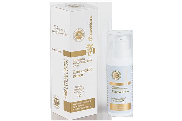 Дневной увлажняющий крем для сухой кожи лица 30 мл.