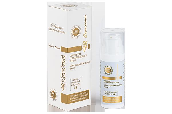 Дневной увлажняющий крем для чувствительной кожи лица 30 мл.