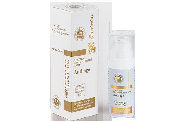 Дневной увлажняющий крем для увядающей кожи лица Anti-Age 30 мл.