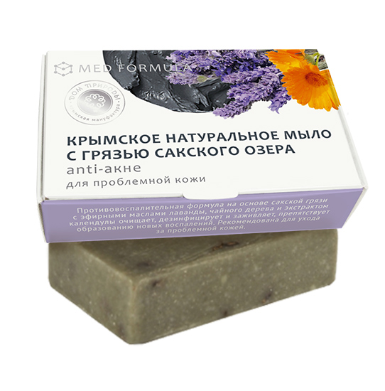 Med formula «Аnti-акне» для проблемной кожи 50 гр.