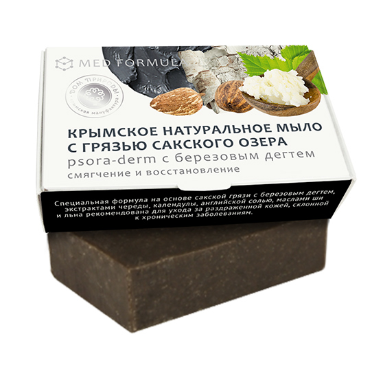 Med formula «Psora-derm с березовым дегтем» смягчение и восстановление 50 гр.
