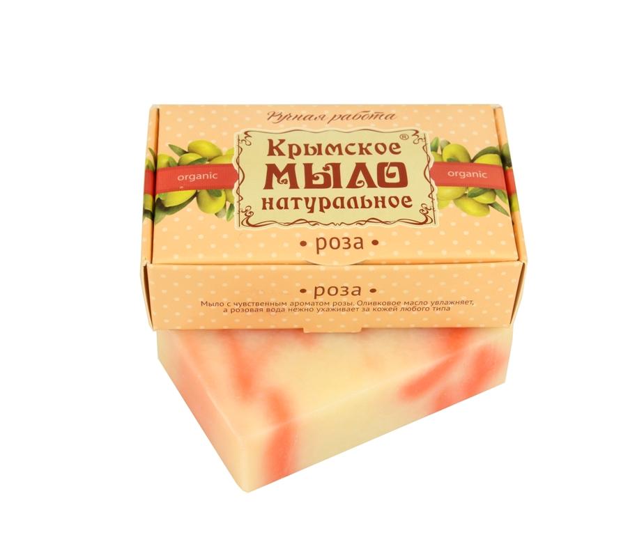 """Мыло натуральное olive """"Роза"""" для всех типов кожи 100 гр."""
