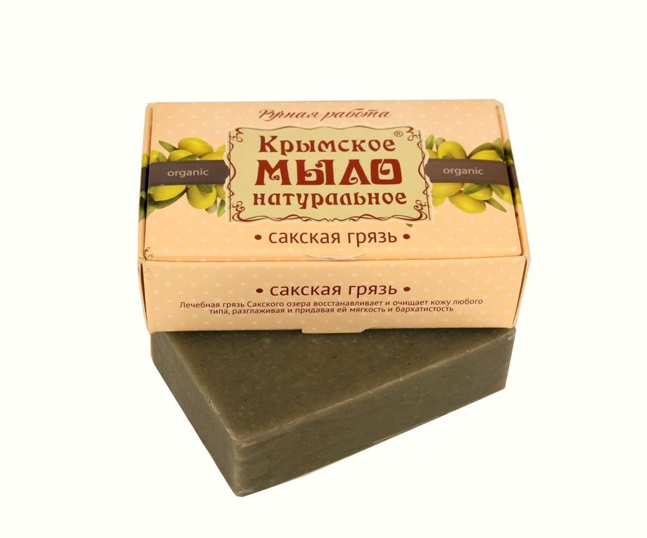"""Мыло натуральное olive """"Сакская грязь"""" эффективно против целлюлита 50 гр."""