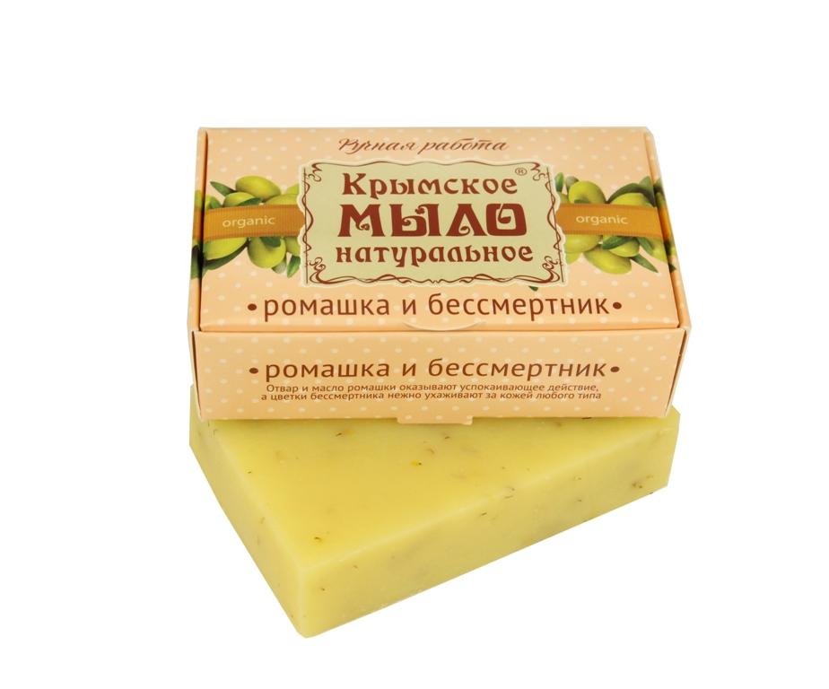 """Мыло натуральное olive """"Ромашка и бессмертник"""" 50 гр."""