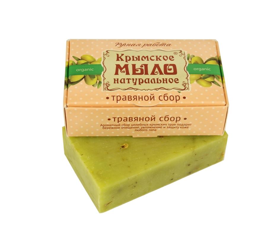 """Мыло натуральное olive """"Травяной сбор"""" для всех типов кожи 50 гр."""