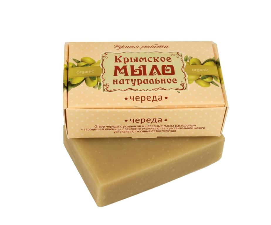 """Мыло натуральное olive """"Череда"""" для чувствительной кожи 50 гр."""