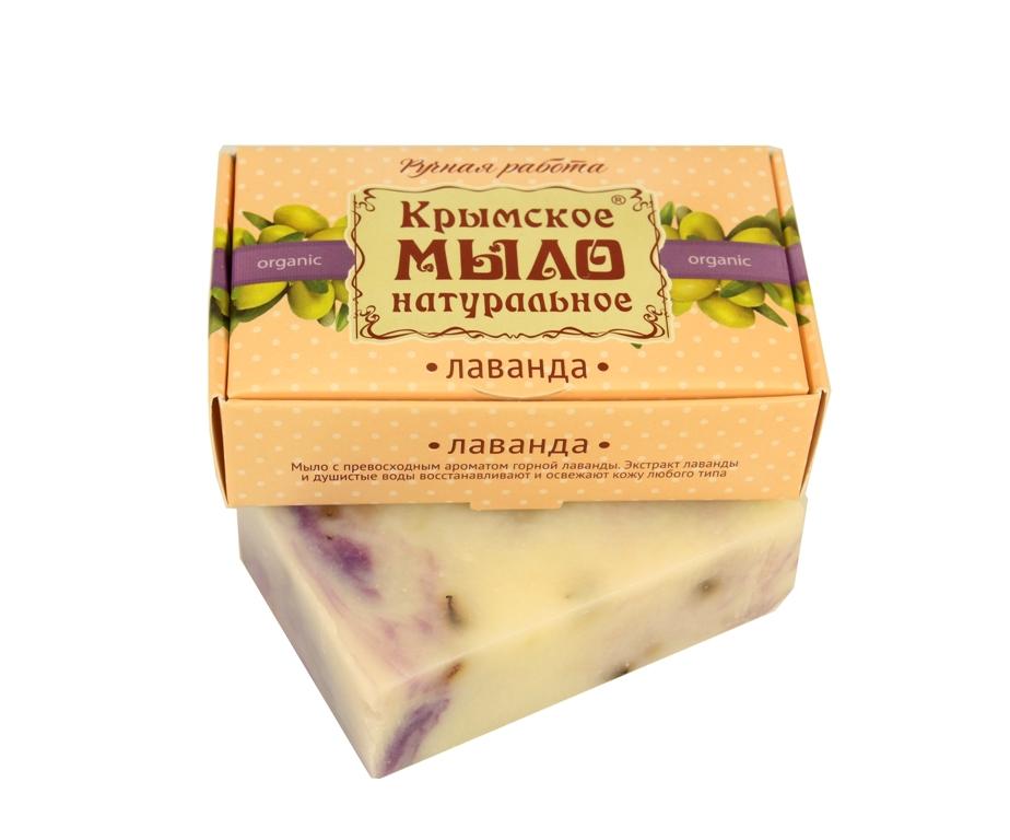"""Мыло натуральное olive """"Лаванда"""" для всех типов кожи 50 гр."""