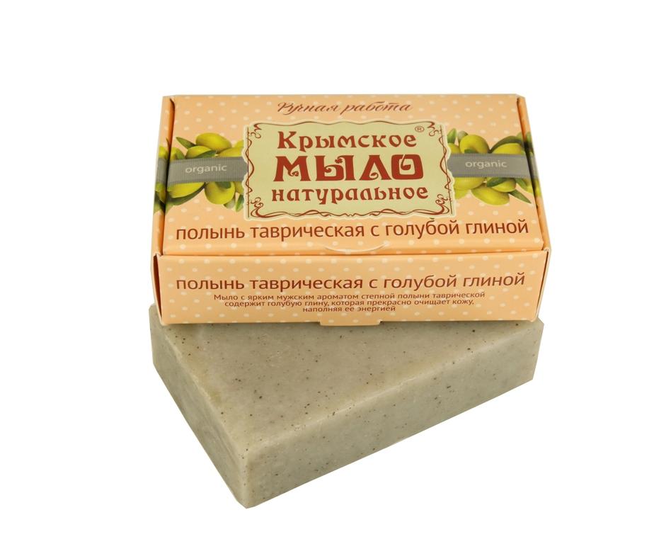 """Мыло натуральное olive """"Полынь таврическая с голубой глиной"""" для глубокого очищения 50 гр."""