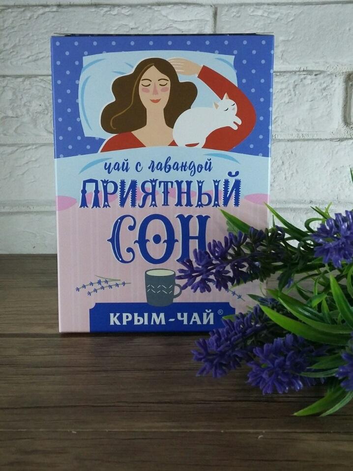 """Крым Чай """"Приятный Сон"""" с лавандой 80 гр."""