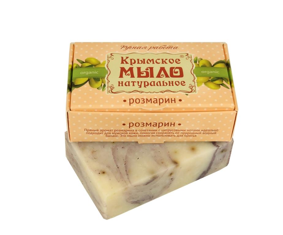 """Мыло натуральное olive """"Розмарин"""" для бритья 50 гр."""