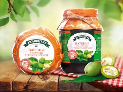 Варенье из зеленых грецких орехов 600 гр. Царство Ароматов