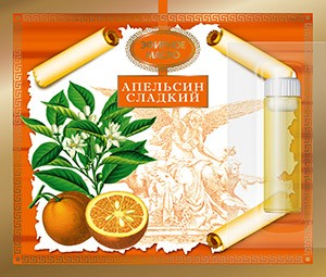 Эфирное масло Апельсина сладкого 2.4 мл. Царство Ароматов