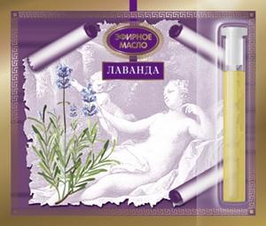Эфирное масло Лаванда 2.4 мл. Царство Ароматов