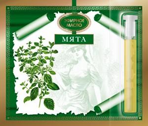 Эфирное масло Мяты 2.4 мл. Царство Ароматов
