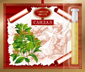 Эфирное масло Сандалового дерева 2.4 мл. Царство Ароматов