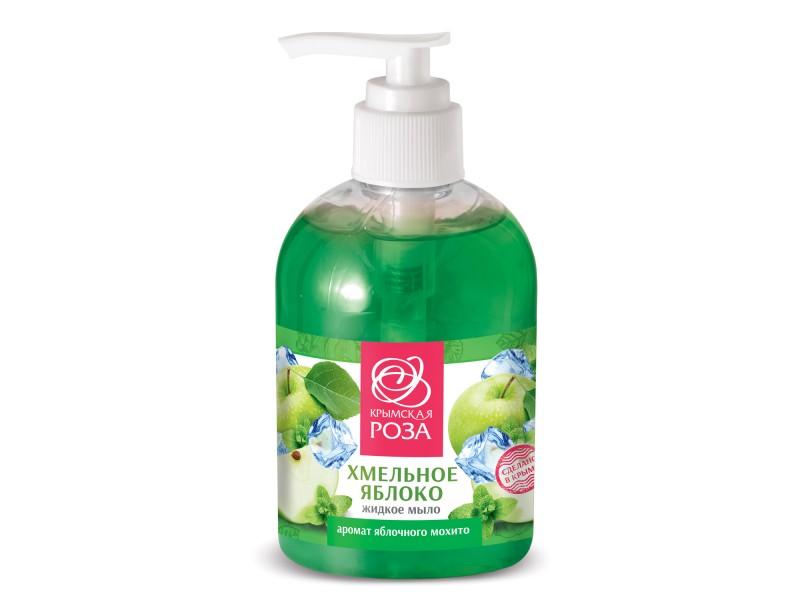 Жидкое мыло хмельное Яблоко 275 мл.