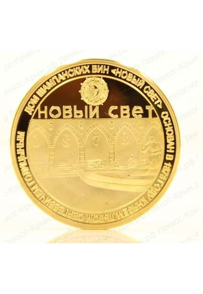 Сувенирная монета Новый Свет. 40 мм