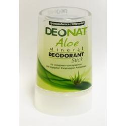 Натуральный минеральный дезодорант Кристалл стик с соком Алое 40 гр. DeoNat