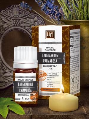 Эфирное масло Пальмарозы 5 мл. Царство Аромато