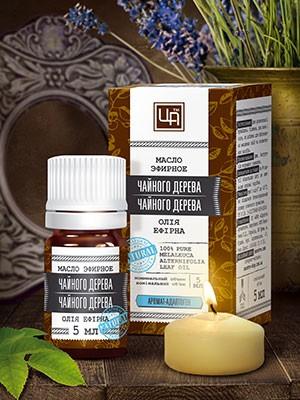 Эфирное масло Чайного дерева 5 мл. Царство Ароматов