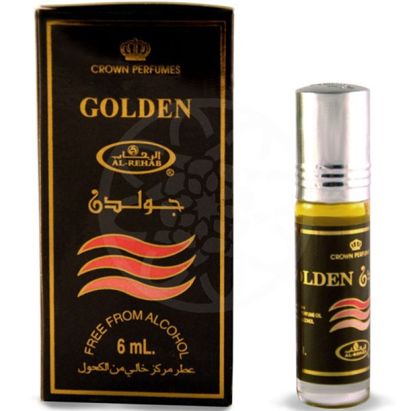 Духи Golden 6 мл. Арабские Духи