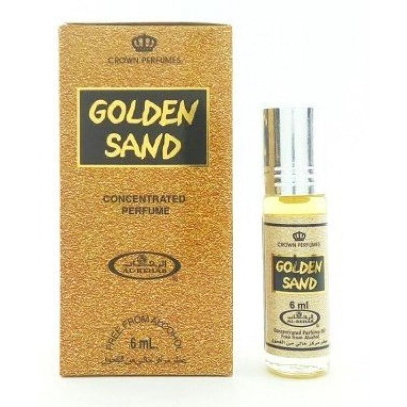 Духи Golden Sand 6 мл. Арабские духи