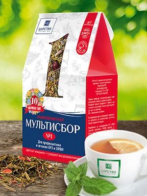Мультисбор №1 для профилактики и лечения ОРЗ и ОРВИ 80 гр.