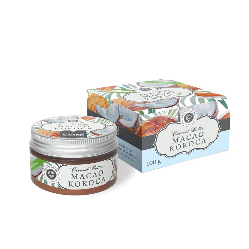 Натуральное масло Кокоса 100 гр.