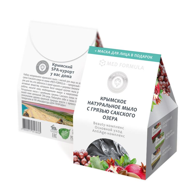 Набор мыла MED-formula 3в1 - Beauty-комплекс, Основной уход, АntiАge-комплекс
