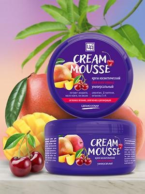 Крем косметический «Cream Mousse» универсальный для всей СЕМЬИ 220 гр.