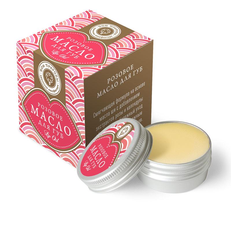 Масло для губ Розовое 11 гр.