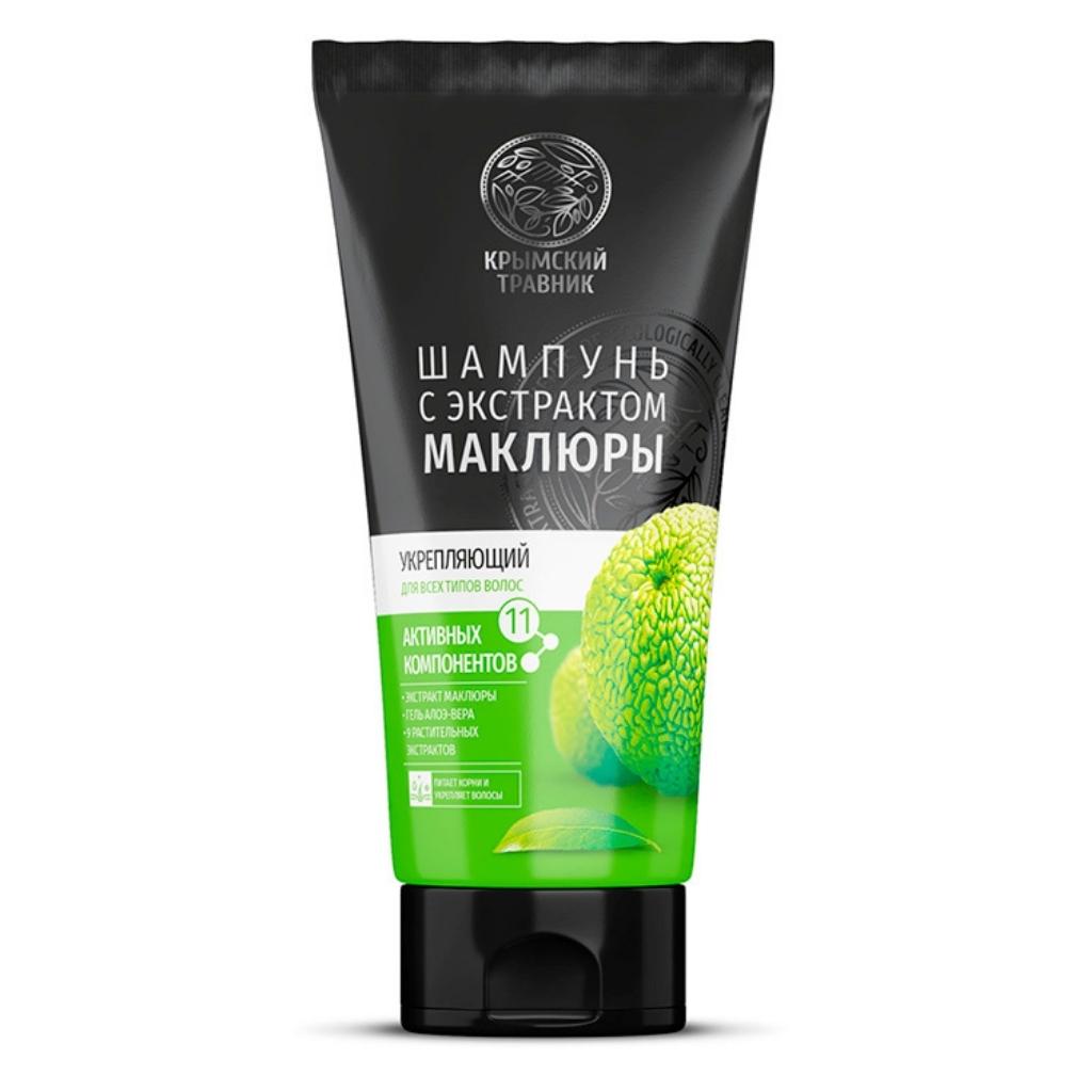 Шампунь Маклюра Укрепляющий для всех типов волос 200 мл.