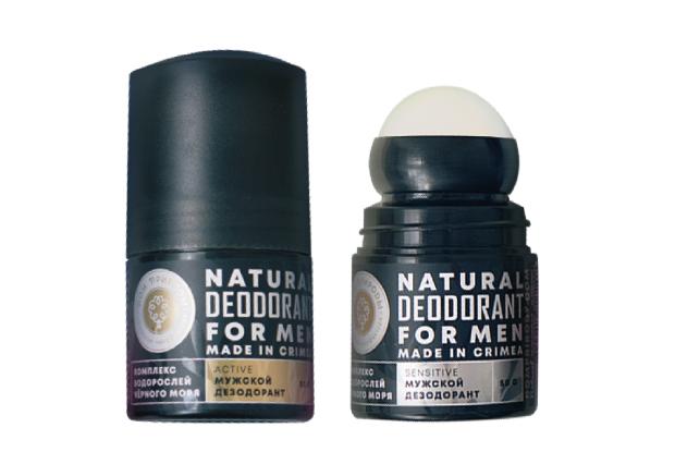 Натуральный дезодорант SENSITIVE с комплексом водорослей Черного моря 50 гр.