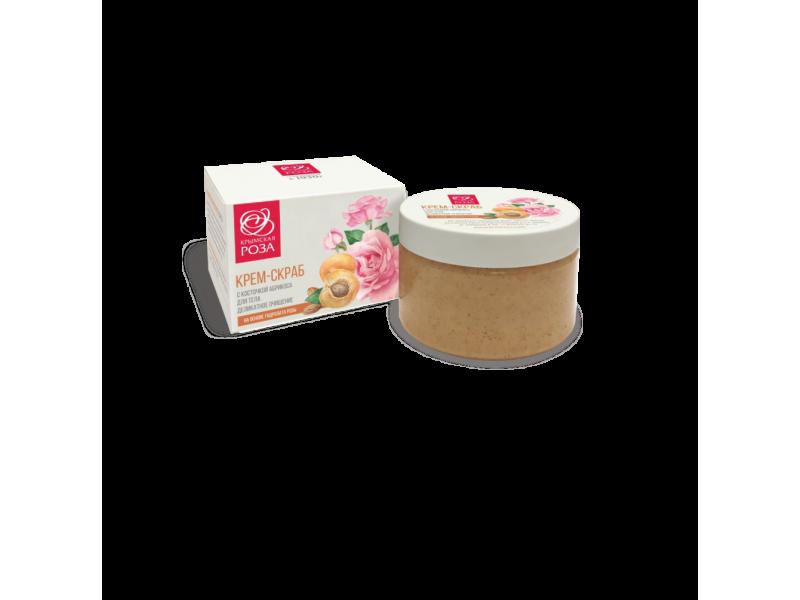 Крем-скраб для тела Деликатное очищение с косточкой абрикоса 250 мл.