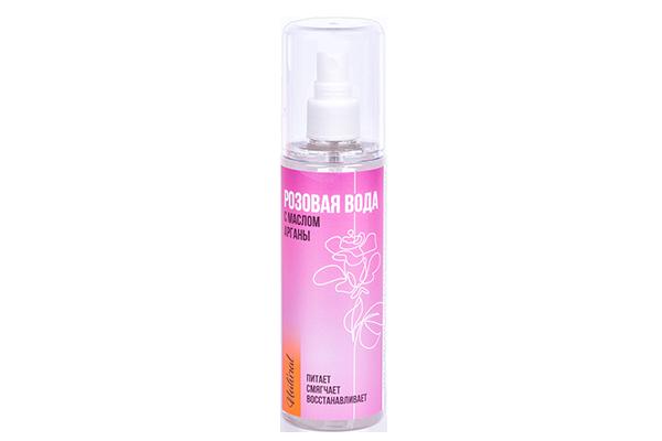 Розовая вода с маслом Арганы 150 мл.