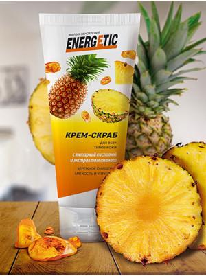 Крем-скраб Energetic для всех типов кожи 100 гр.
