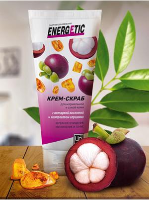 Крем-скраб Energetic для нормальной и сухой кожи 100 гр.