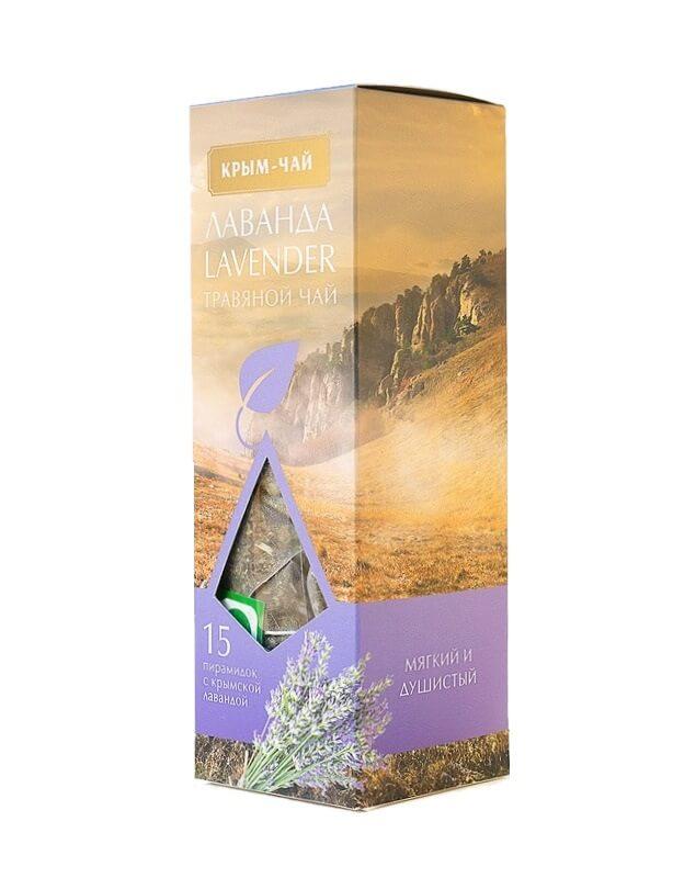 Травяной чай с Лавандой 15 пирамидок