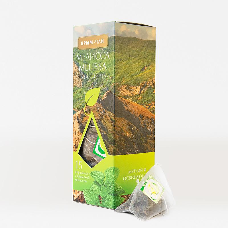 Травяной чай с Мелиссой 15 пирамидок