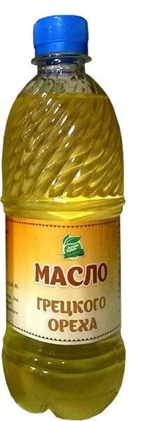 Масло Грецкого ореха холодного отжима 500 мл.