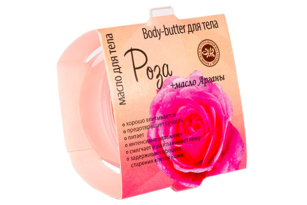 "Крем масло для тела ""Роза"" 35 гр."