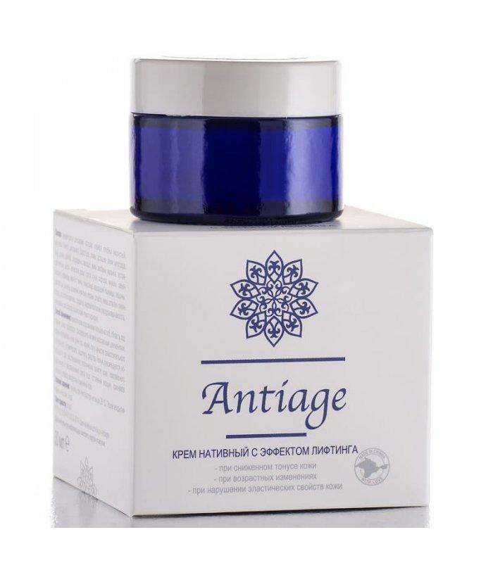 Крем нативный для лица Antiage с эффектом лифтинга 30 мл.