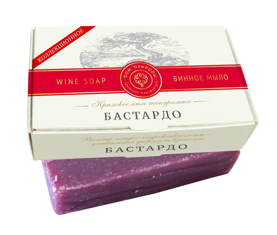 Винное мыло Бастардо - эффект лифтинга 100 гр.