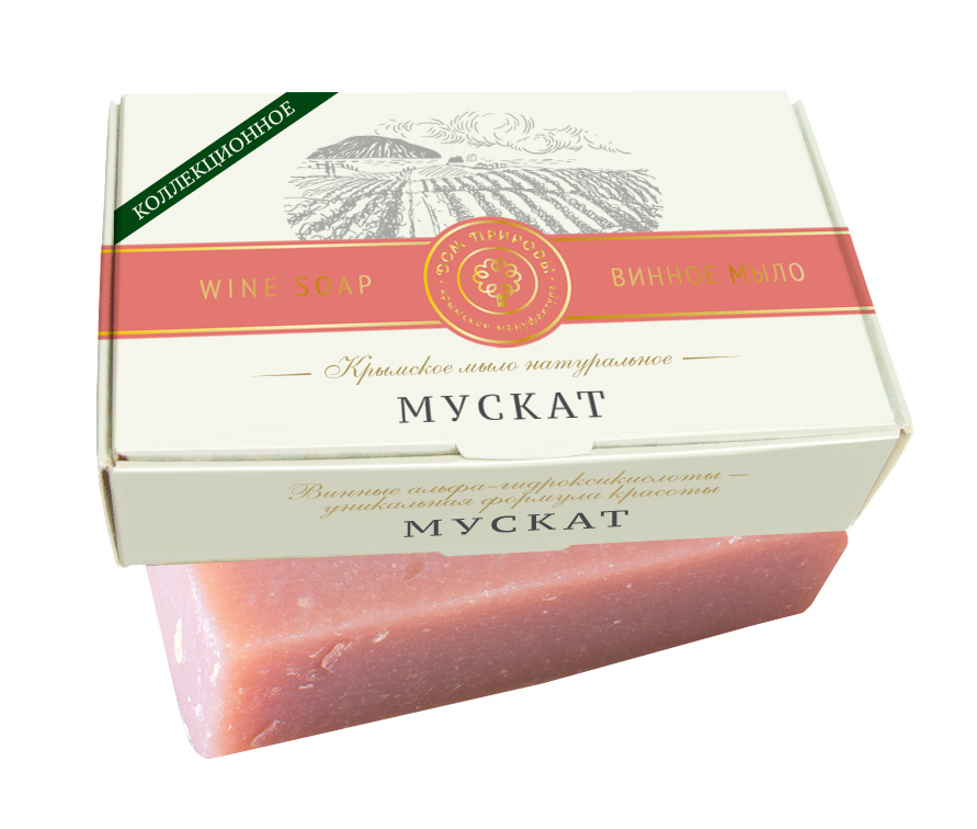 Винное мыло Мускат - гидробаланс 100 гр.