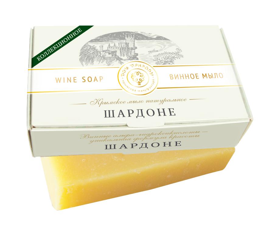 Винное мыло Шардоне - очищение и защита 100 гр.
