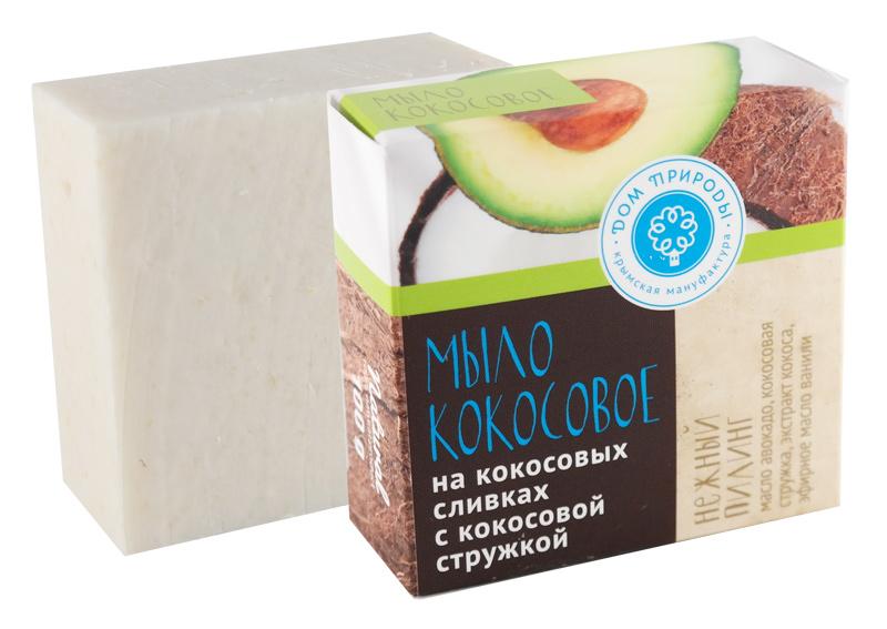 Кокосовое мыло Нежный пилинг 100 гр.